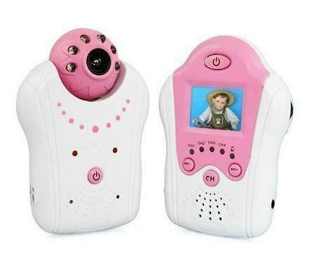 Compact Babyfoon Baby Monitor met Camera Roze