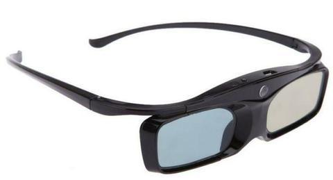 3D Active Shutter Glasses 96-144Hz for DLP-Link 3D Projector