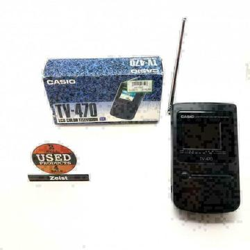 Casio TV-470 | LCD Color Television | Portable