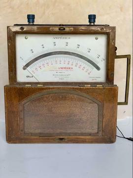 Antieke Ampèremeter