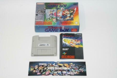 Super Gameboy (Super Nintendo Accessoires, Super Nintendo)