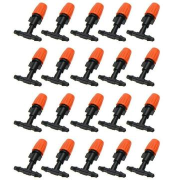 20 stks Micro Druppelsysteem Nozzle Water Control Spuit