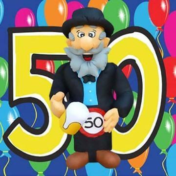 Opblaas Abraham en Sara 4,5m te huur,50 jaar!